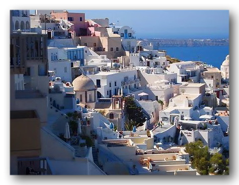 Fira, the Capital of Santorini
